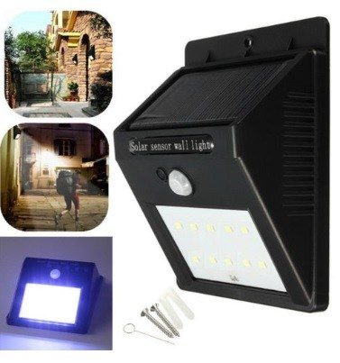 Bribie Solar outdoor motion sensor light